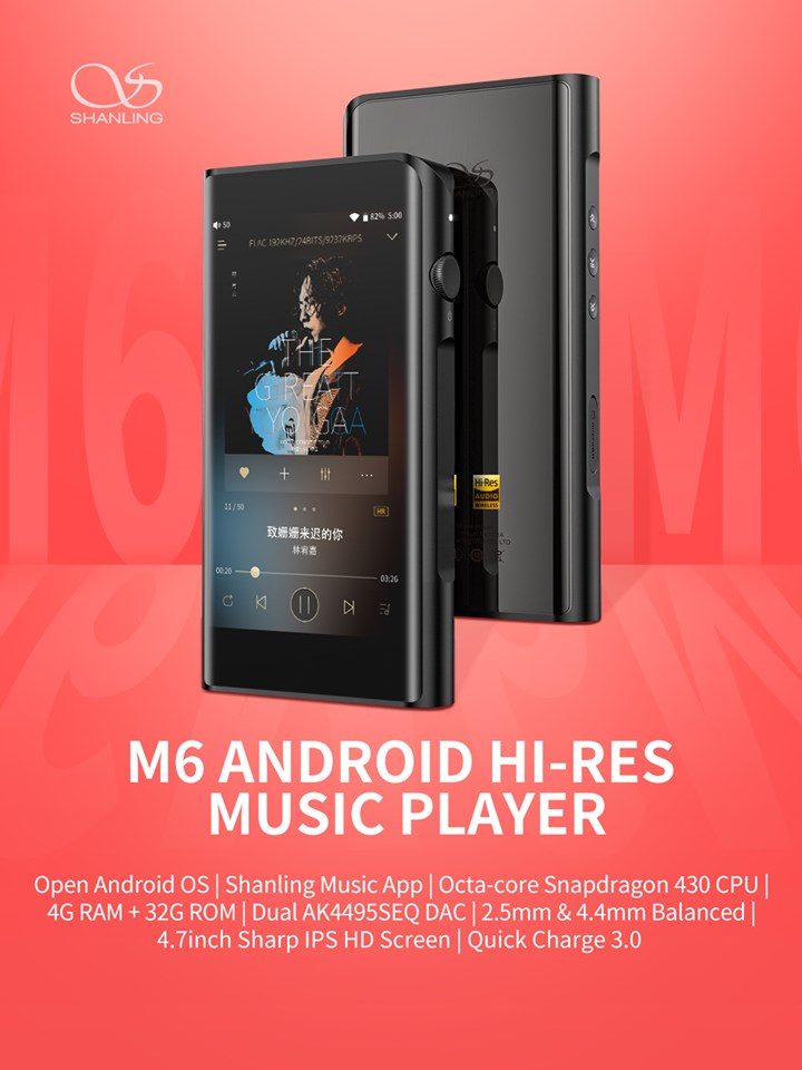 Shanling M6 Music Player