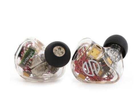 BGVP ArtMagic ES12 4EST + 8BA Electrostatic BA Hybrid In-Ear Earphone HiFiGo Black