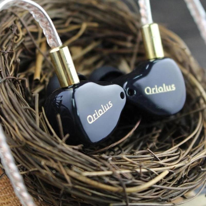 Black Oriolus Earphone Denmark Sonion BA Driver +10mm Custom Dynamic HiFiGo