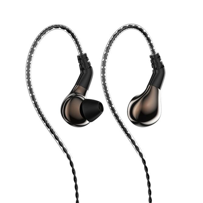 BLON BL-03 HiFi 10mm Carbon Diaphragm Dynamic Driver in-Ear Earphone IEM HiFiGo brown no mic