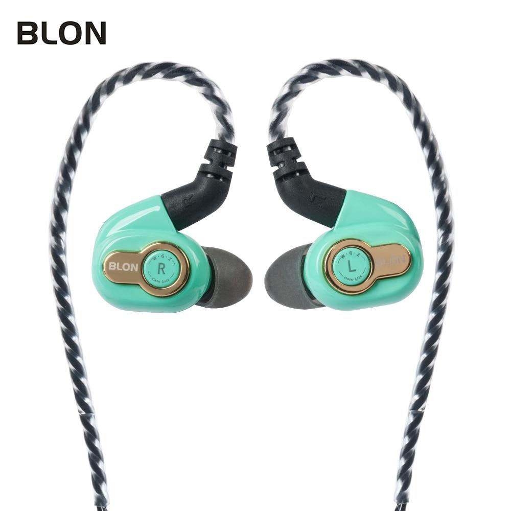 BLON BL-05s BL05s 3rd Generation 10mm Upgraded Carbon Diaphragm In Ear Earphone HiFiGo