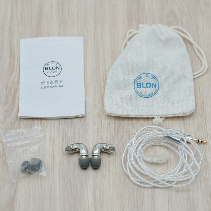 BLON BL mini 6mm Dynamic Driver In Ear Earphone IEM HiFiGo