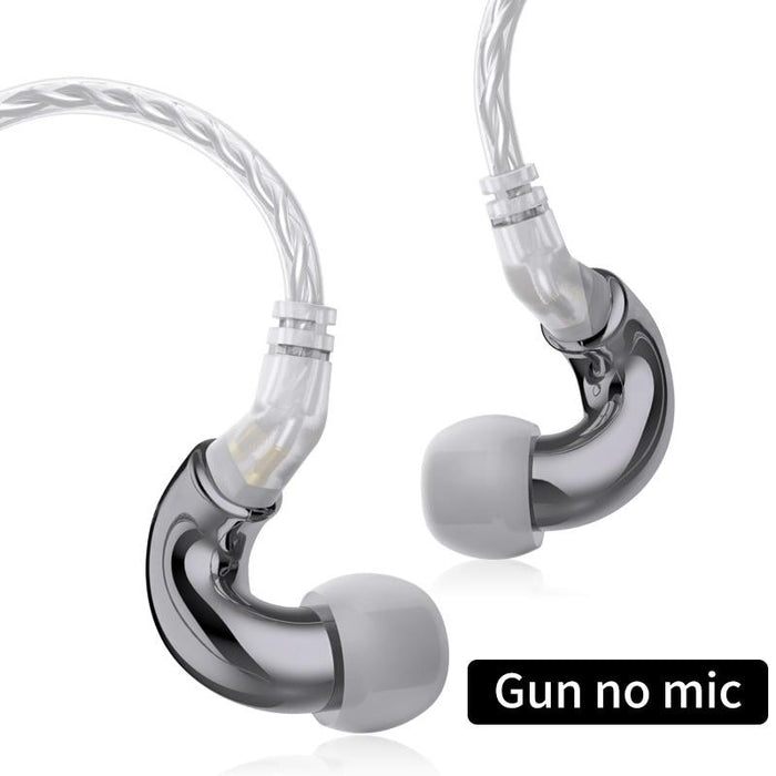BLON BL mini 6mm Dynamic Driver In Ear Earphone IEM HiFiGo Gun no mic