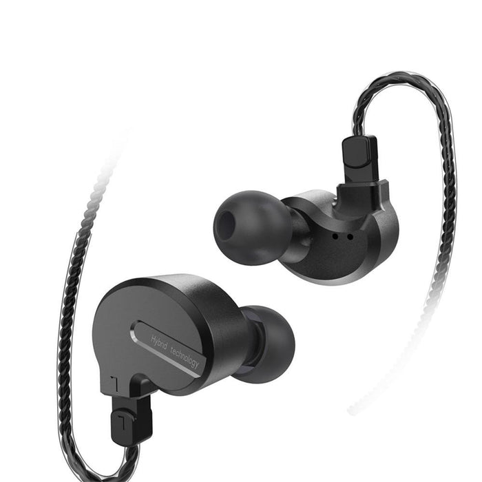 BQEYZ KB1 1BA+2DD Hybrid In Ear Earphones HiFiGo