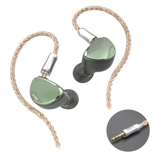 BQEYZ Spring 2 New Tri-brid In-Ear Monitor IEMs Earphone HiFiGo