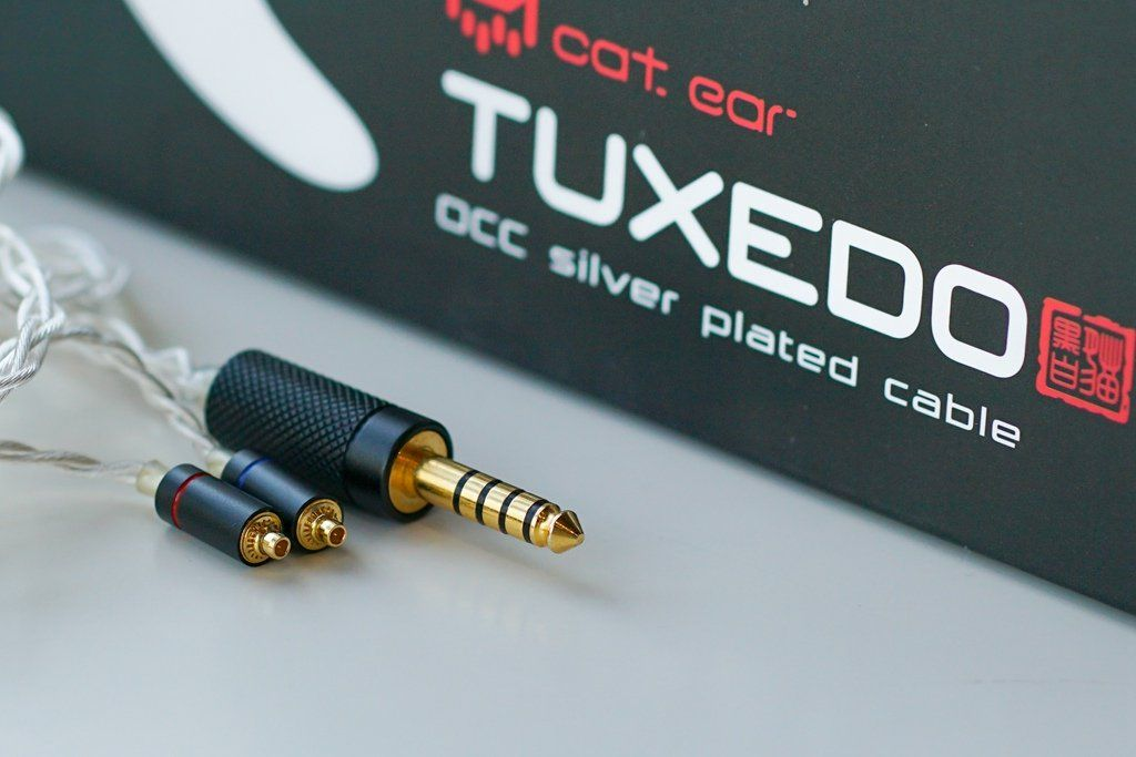 Catear TUXEDO upgrade cable MMCX 2pin 3.5mm 2.5mm 4.4mm HiFiGo