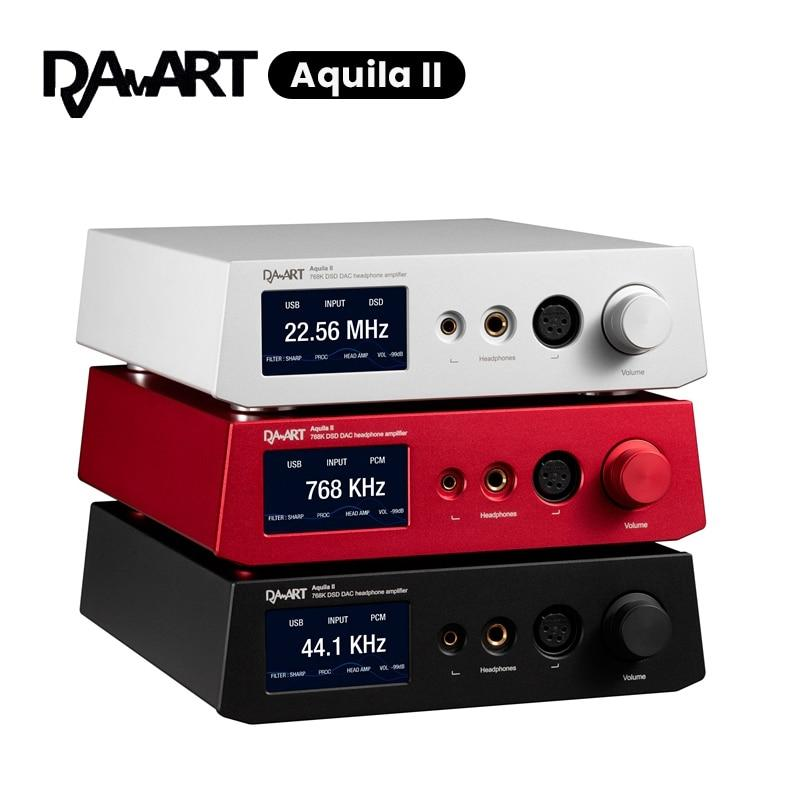 DAART Yulong Aquila II DAC ESS9038PRO Balanced Preamp Headphone Amplifier HiFiGo