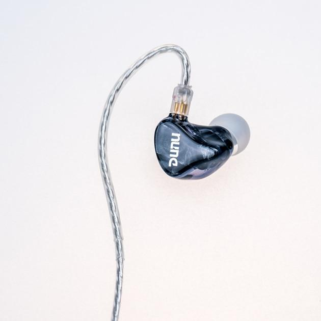 DUNU DM-480/DM480 Titanium Dual Dynamic In-ears earphone HiFi Audio IEM HiFiGo Grey