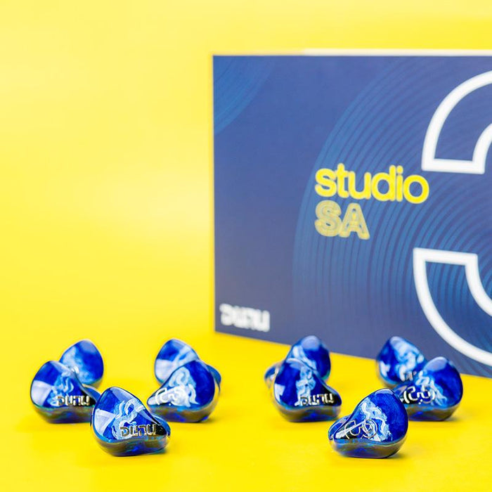 DUNU Studio SA3 3 BA Drivers In-Ear Earphone 3D Print IEMs HiFiGo