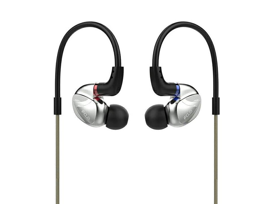 Fidue VIRGO A85 2 Balanced Armature+Dyanmic Driver 2BA+1DD Hybrid In-ear Metal Earphones HiFiGo