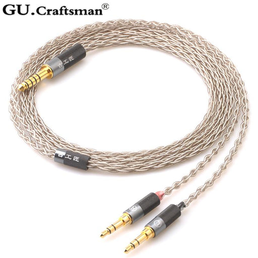 GUcraftsman 6n silver For Beyerdynamic Headphone Upgrade Cable HiFiGo