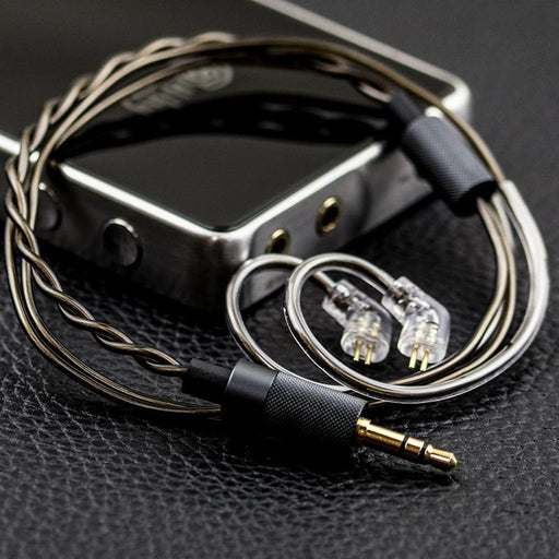 HiBy 3.5mm Gold-Plated Short Headphone Cable 0.78mm 2 Pins MMCX HiFiGo
