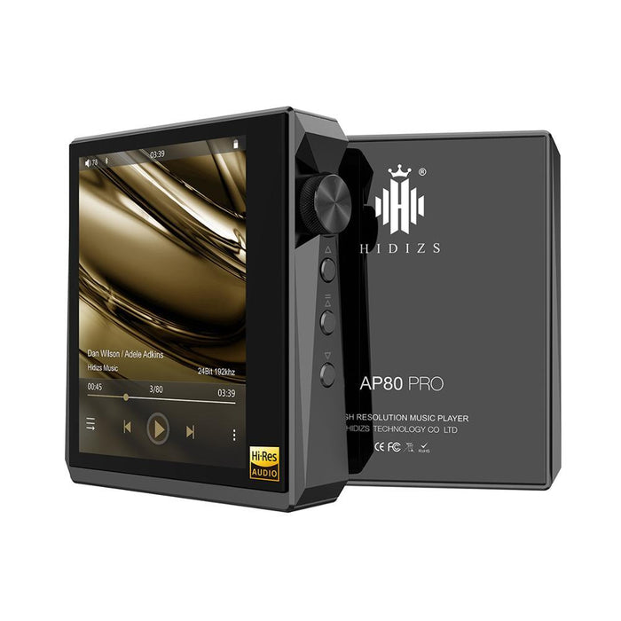 Hidizs AP80 PRO Fully Balanced Portable Music Player DAP HiFiGo black