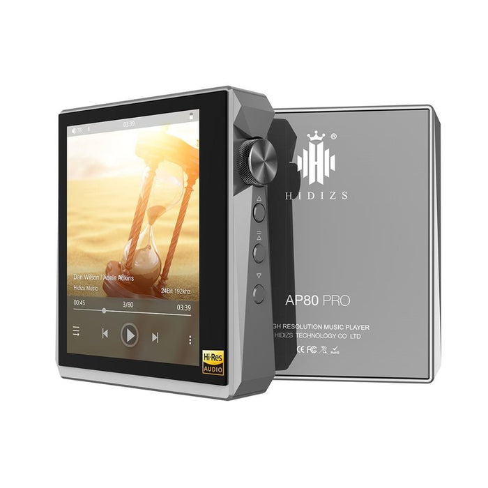 Hidizs AP80 PRO Fully Balanced Portable Music Player DAP HiFiGo grey