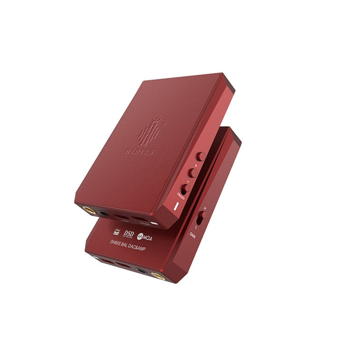 Hidizs DH80 / DH80S Portable Balanced DAC & AMP HiFiGo DH80 Red