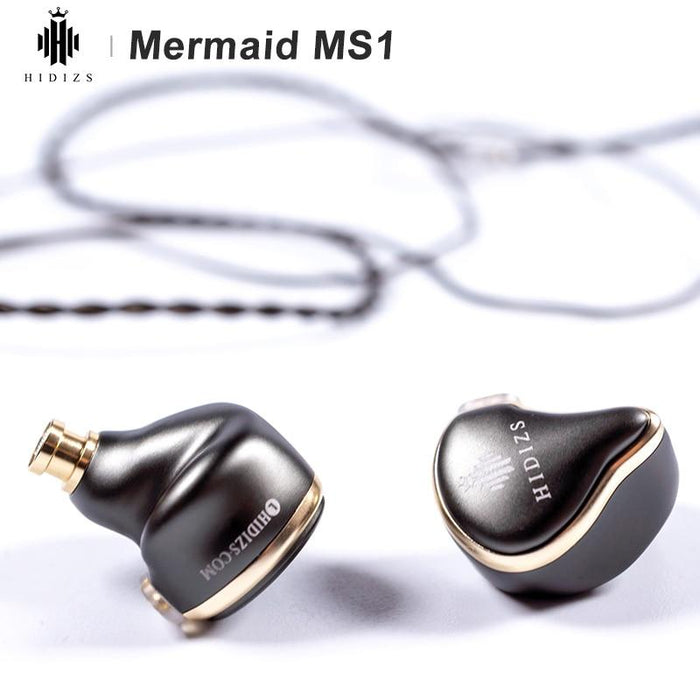 Hidizs Mermaid MS1 Dynamic Diaphragm In-Ear Monitor Earphone IEM HiFiGo