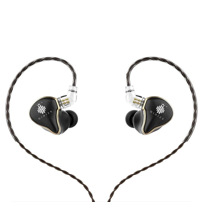 Hidizs Mermaid MS1 Dynamic Diaphragm In-Ear Monitor Earphone IEM HiFiGo black