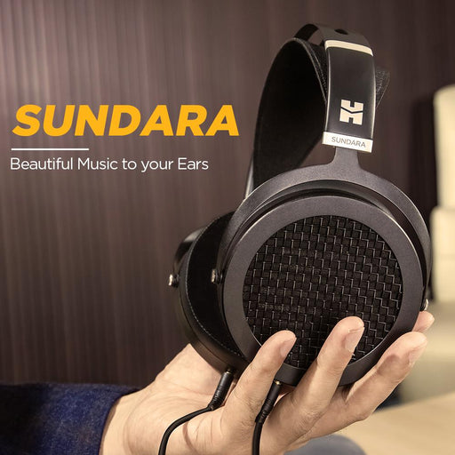 HIFIMAN SUNDARA Over-Ear Full-Size Planar Magnetic Headphones HiFiGo
