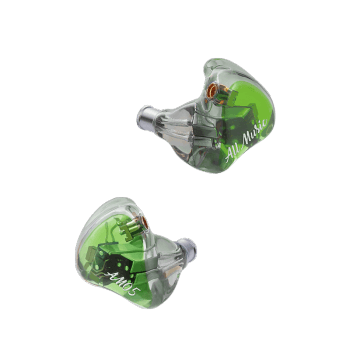 iBasso AM05 5BA Knowles In Ear Wired 4 Channel IEM HiFi Earphone with MMCX Earphone HiFiGo green