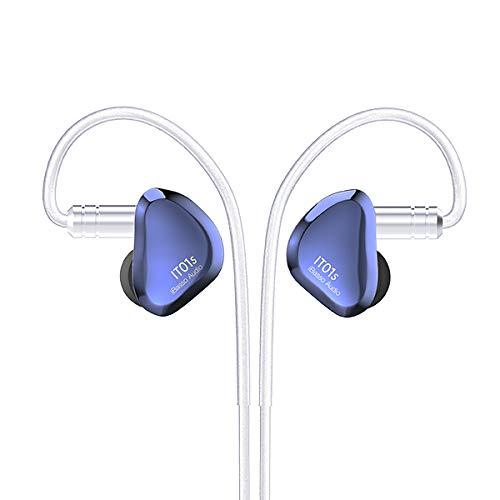 iBasso IT01S (Blue Mist) Audio DiNaTT Dynamic Driver Earphone HiFiGo