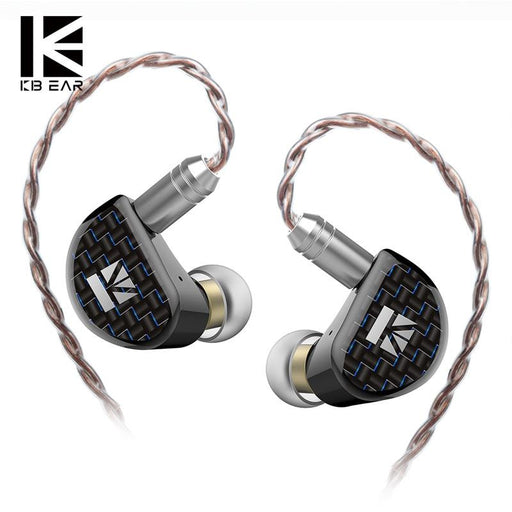 KBEAR Believe 9mm Pure Beryllium Diaphragm 1DD In Ear Earphone HiFiGo