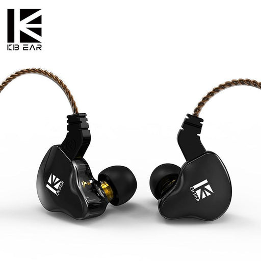 KBEAR KS2 Hybrid DD+BA In ear earphone With 0.78mm 2Pin HiFiGo