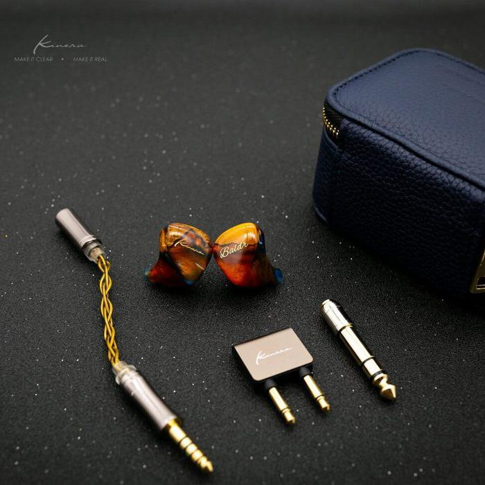 Kinera Baldr 4 EST + 2BA + 1DD Hybrid Electrostatic Flagship In-Ear Monitor With 0.78mm 2-Pin Detachable Cable Earphone HiFiGo
