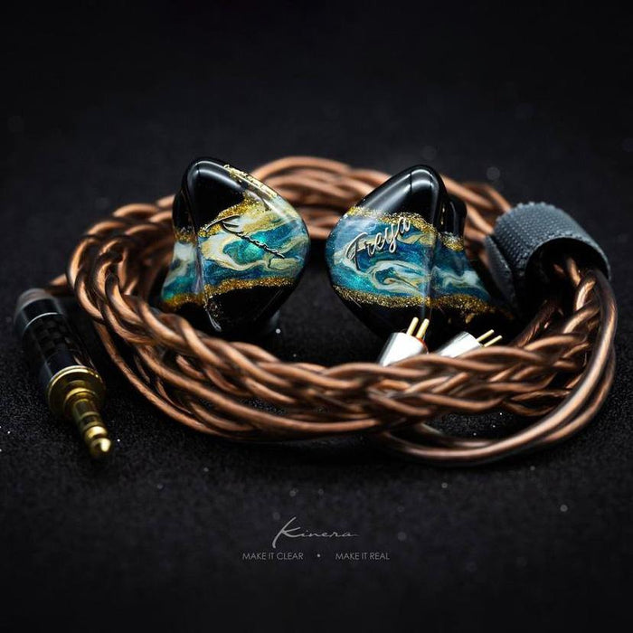 Kinera Freya 3BA+1DD Quad Driver Hybrid In-Ear Monitor IEM Earphone With 0.78mm 2-Pin Detachable Cable HiFiGo