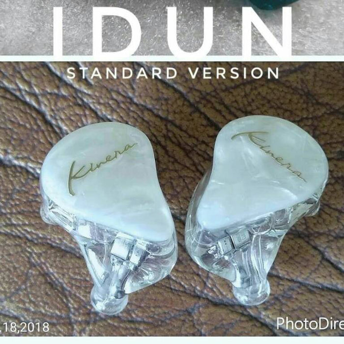 KINERA IDUN Deluxe Version In Ear Earphone HIFI Earphone Monitor Headset HiFiGo Skin Color