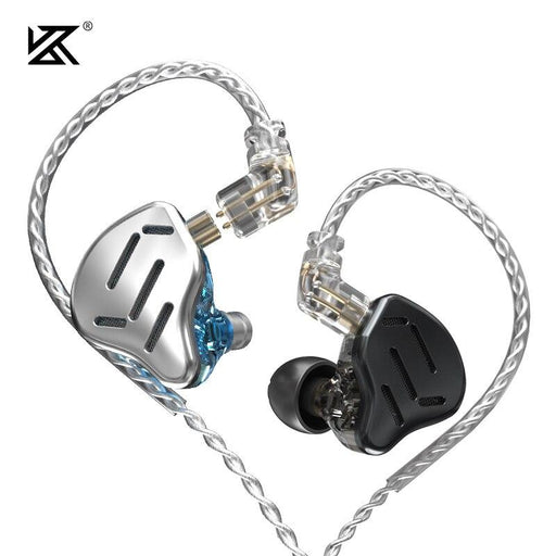 KZ ZAX Headset 16 Units HIFI Bass In Ear Monitor Hybrid Earphones HiFiGo