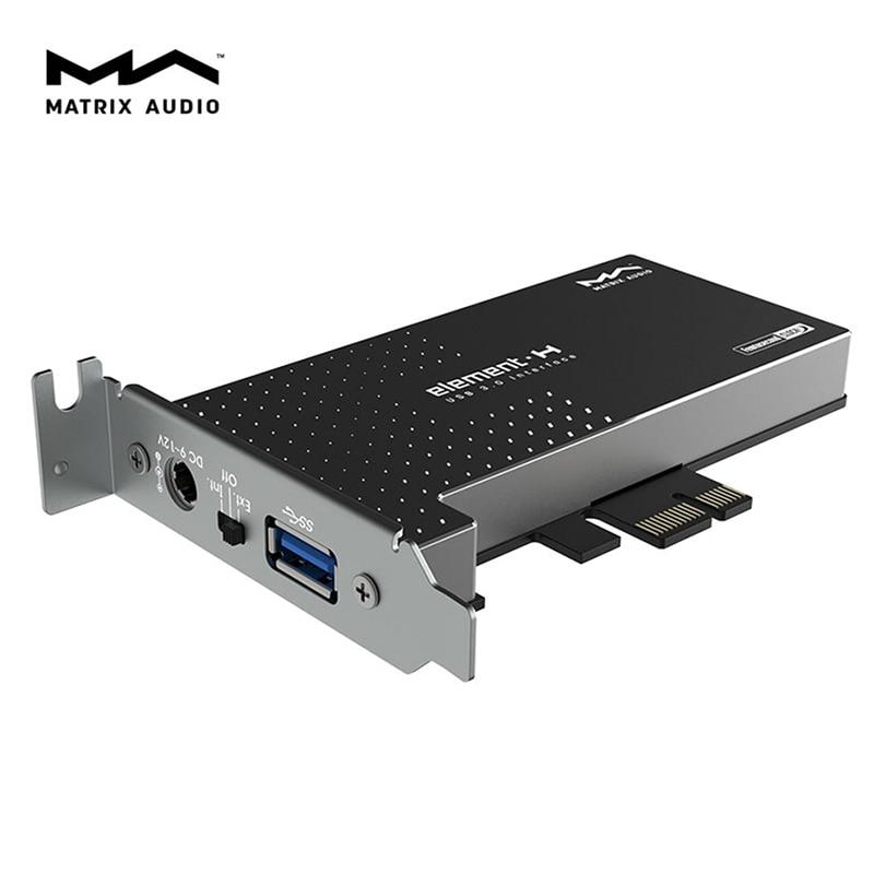 Matrix element H USB 3.0 Interface expansion Card Crystek femtosecond Clock HiFiGo