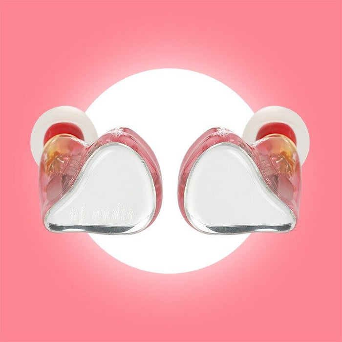 NF Audio NF4U Lolita for ACG 4 Knowles BA+Dynamic Hybrid Drivers HIFI In-ear Earphone HiFiGo PINK