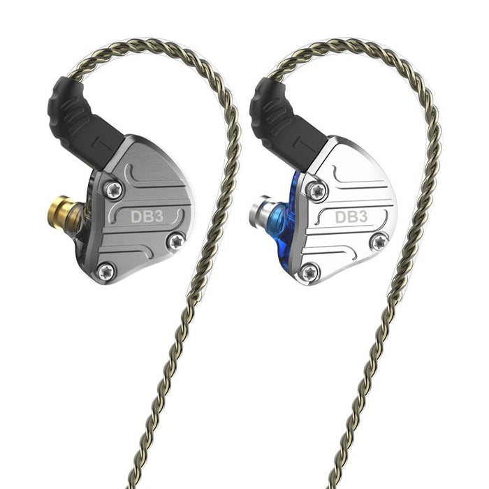 NICEHCK DB3 1BA+2DD Hybrid 3 Driver Units In Ear Earphone Monitor HiFiGo