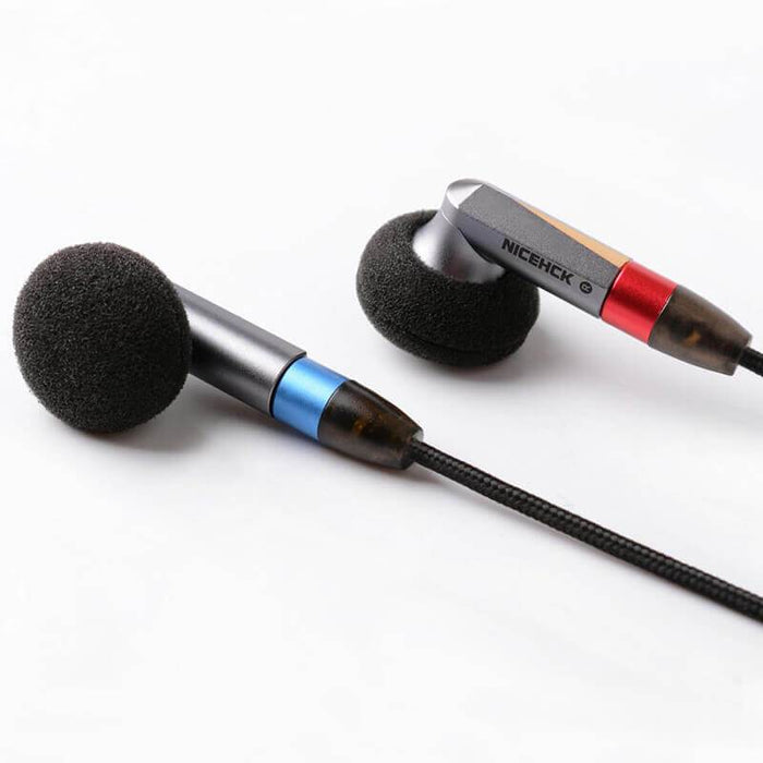 NiceHck EBX21 Flagship Flat In-Ear Earphones HiFiGo