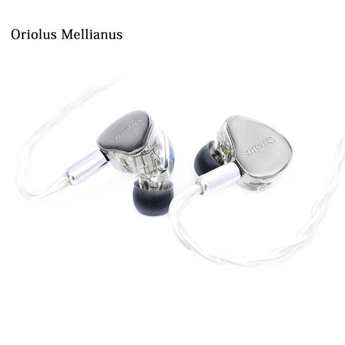 Oriolus Mellianus 10 BA Balanced Armature Drivers HiFi In ear Earphone HiFiGo