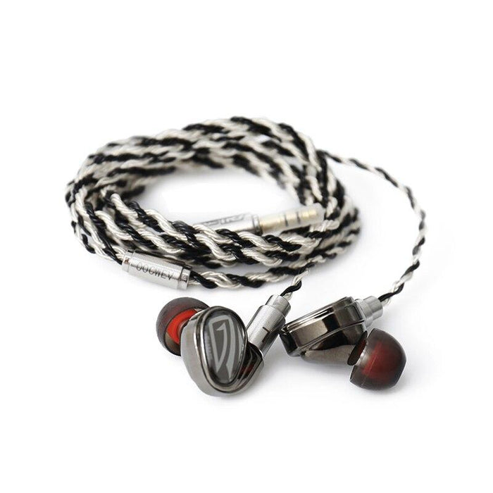 OSTRY KC07 Balanced Armature + EBT Dynamic Technology HIFI In-ear Earphones HiFiGo OSTRY KC07