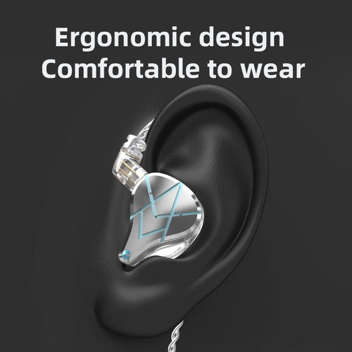 Pre-Order KZ ASX 20 BA Units In-Ear Monitor Earphones IEM HiFiGo