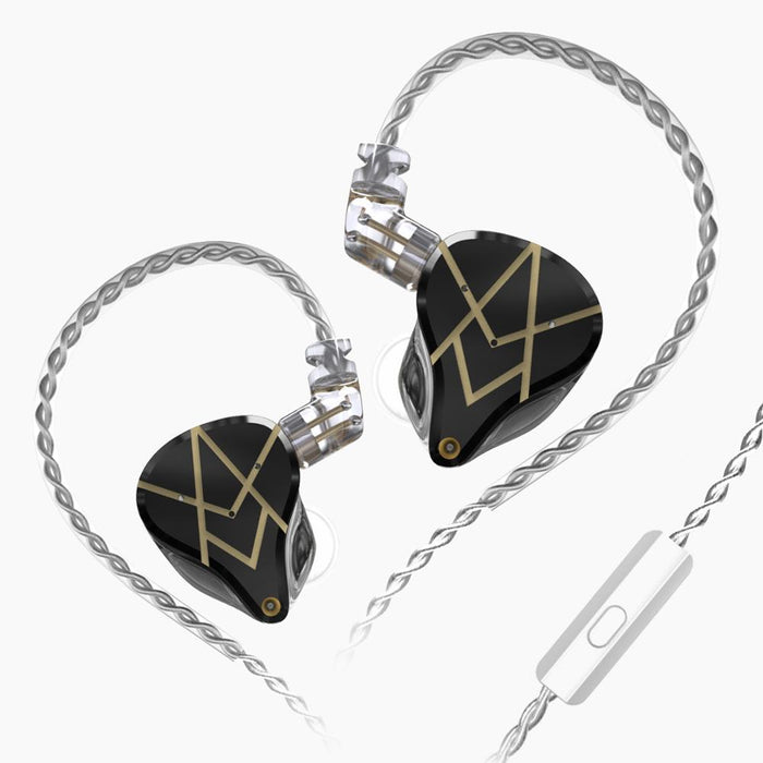 Pre-Order KZ ASX 20 BA Units In-Ear Monitor Earphones IEM HiFiGo Black Mic