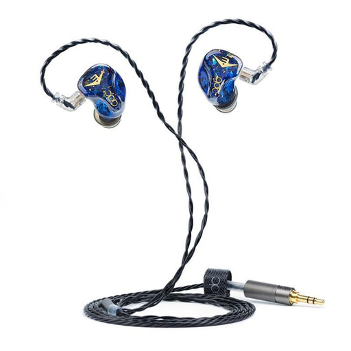 QDC Anole V3 Standard Edition 3BA HiFi In-ear Earphones Multi-tuning HiFiGo