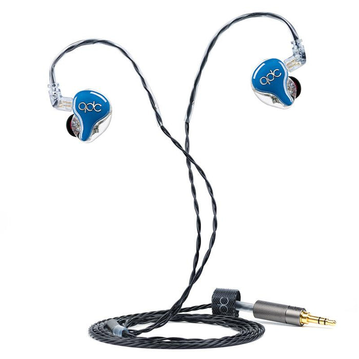QDC HiFi 8 Custom In-ear Earphone Eight-unit Balanced Armature 8BA HiFiGo