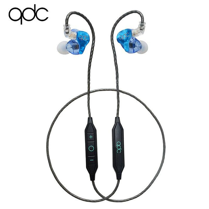 QDC Neptune Balanced Armature Universal Music In-ear Earphones HiFiGo Neptune wit mic