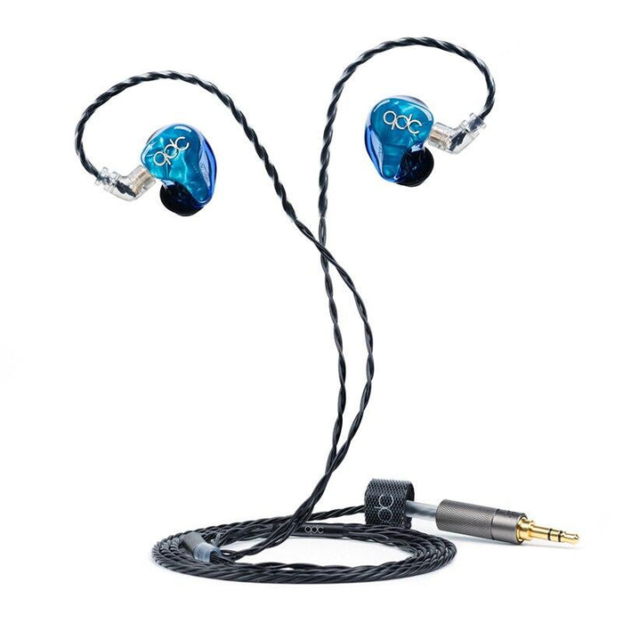 QDC Neptune Balanced Armature Universal Music In-ear Earphones HiFiGo standard version