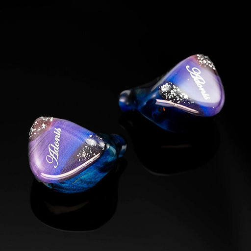 QOA Adonis CNC Resin Wooden Shell In Ear Monitor 10mm DD+2BA Hybrid IEM HiFiGo