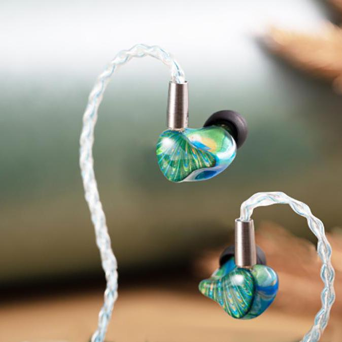 Reecho x Peacock Audio Triple Driver Spring Fever Earphone HiFiGo