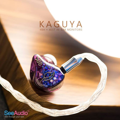 See Audio Kaguya 4BA + 4EST In-Ear Monitors IEMs Earphone HiFiGo