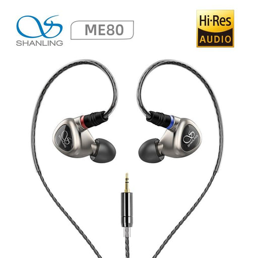 Shanling ME80 In Ear Earphone 10mm Dynamic Driver HiFiGo