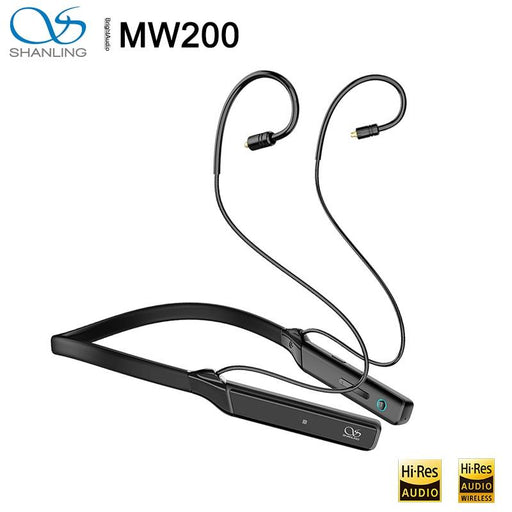 Shanling MW200 AK4377A CSR8675 BT 5.0 Neckband Sports MMCX Earphone Cable HiFiGo