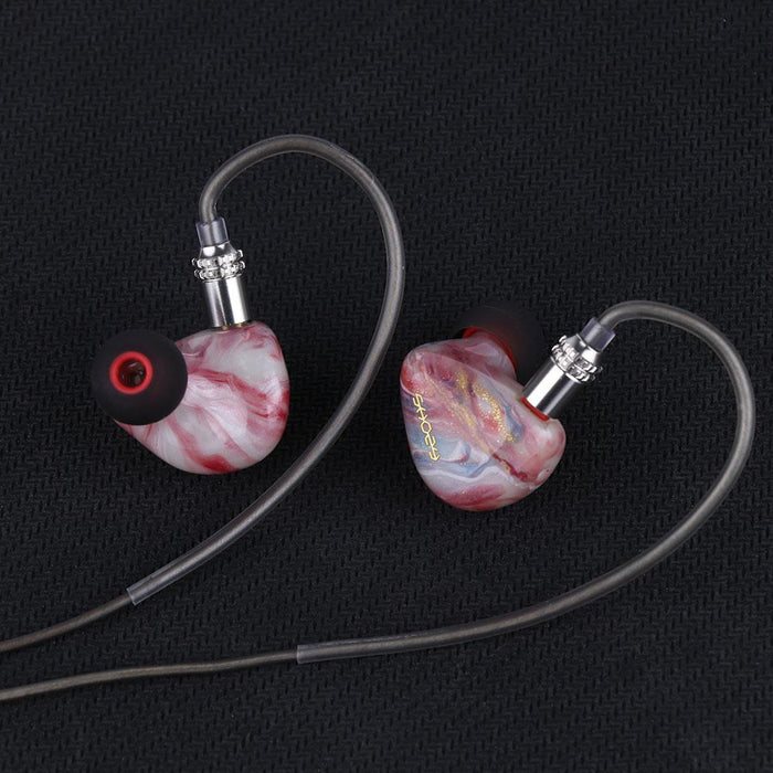 Shozy Rouge 1DD+2BA Triple Hybrid Driver In-ear Monitors IEM Earphone HiFiGo