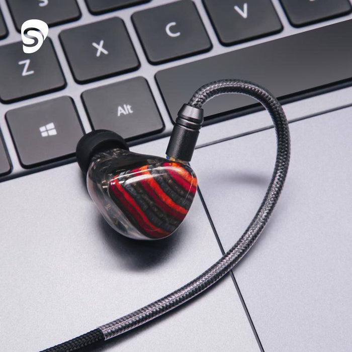 Shuoer Conductor Electrostatic DD+2BA+4EST Tribrid Flagship In-Ear Earphones HiFiGo