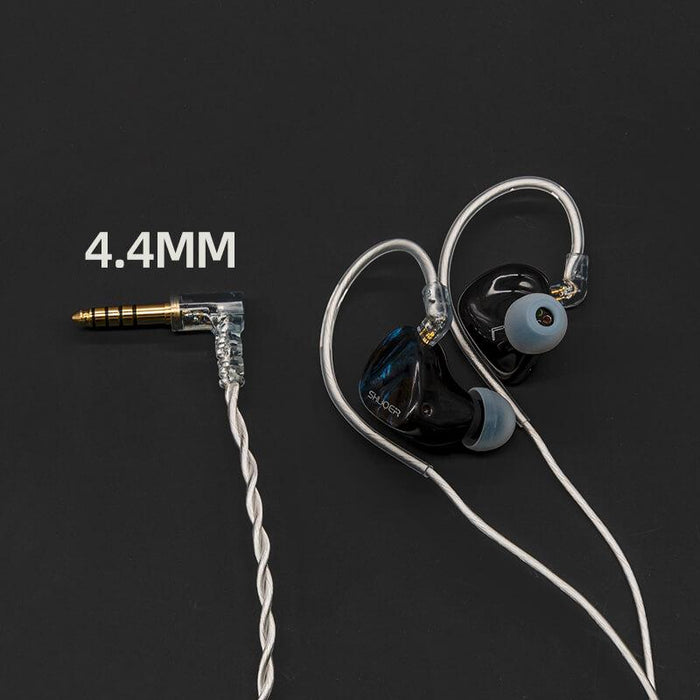 Shuoer EJ09 5 EST + 3 BA + DD Flagship In Ear Earphone IEMs HiFiGo 4.4